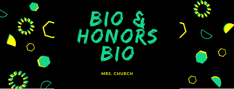 Honors Biology Banner